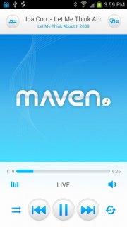 3D MAVEN Music Player