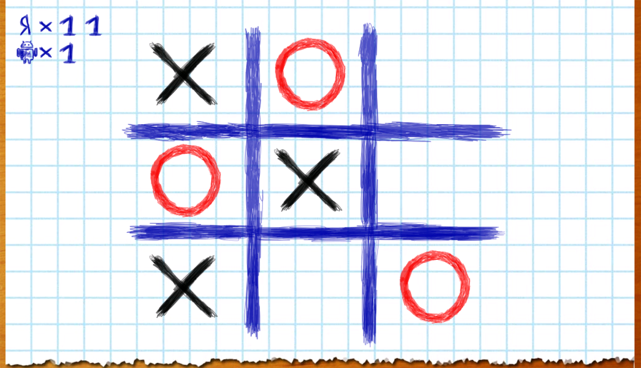 Как сделать крестики нолики на c