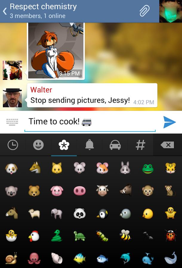 новый телеграмм 3.11 для андроид 2.3 скачать