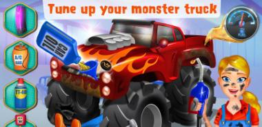 Mechanic Mike - Monster Truck